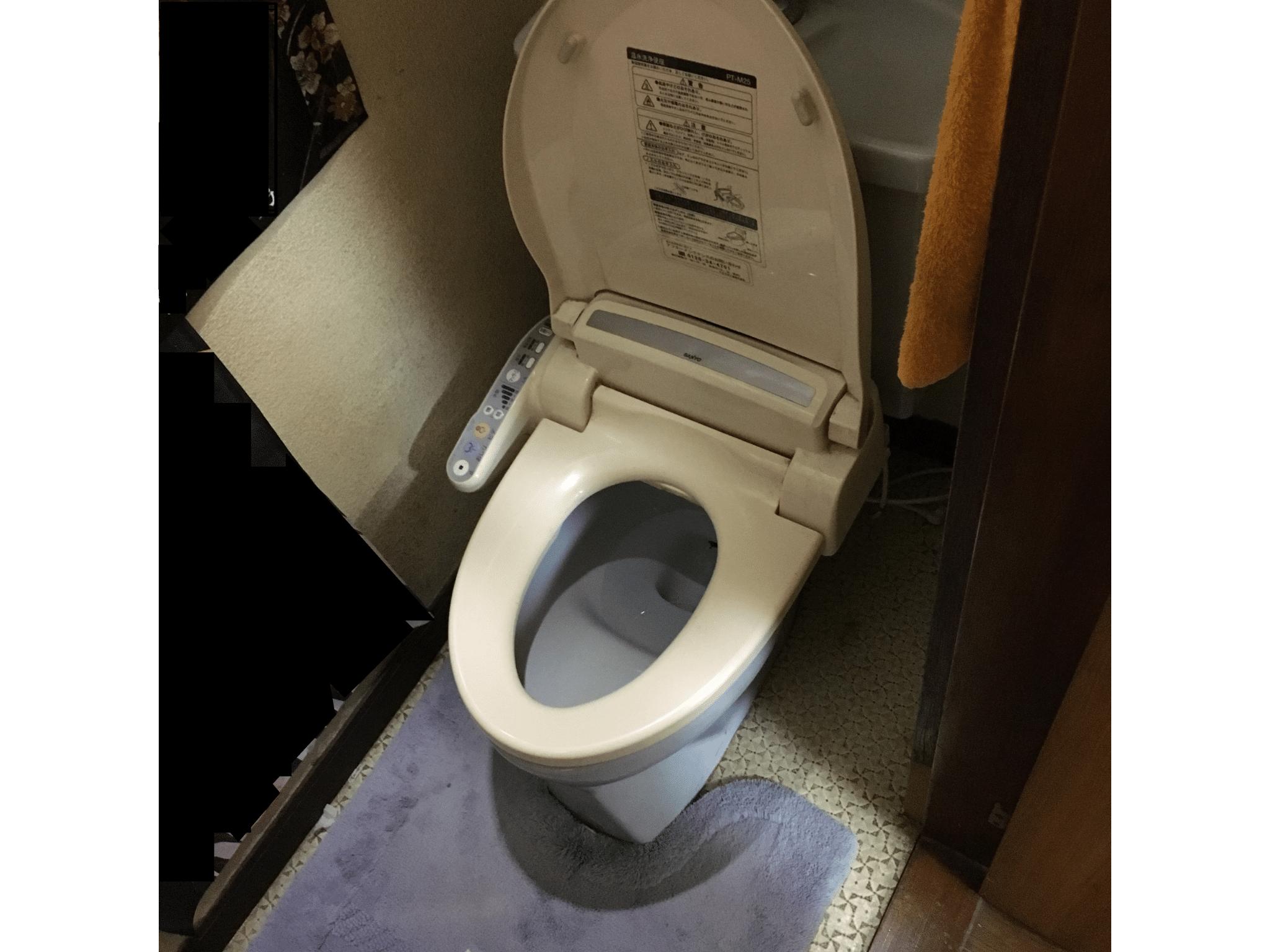 トイレ+ウォッシュレット交換(水漏れの修理) 施工前