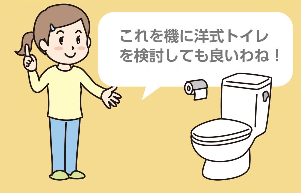 トイレの新規助成メニュー内容は?