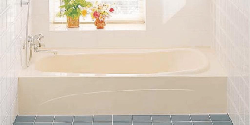 据え置き型浴槽の浴槽交換