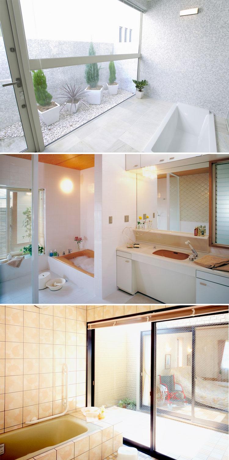 在来工法の浴室でできること