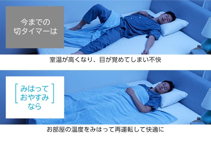 みはっておやすみ